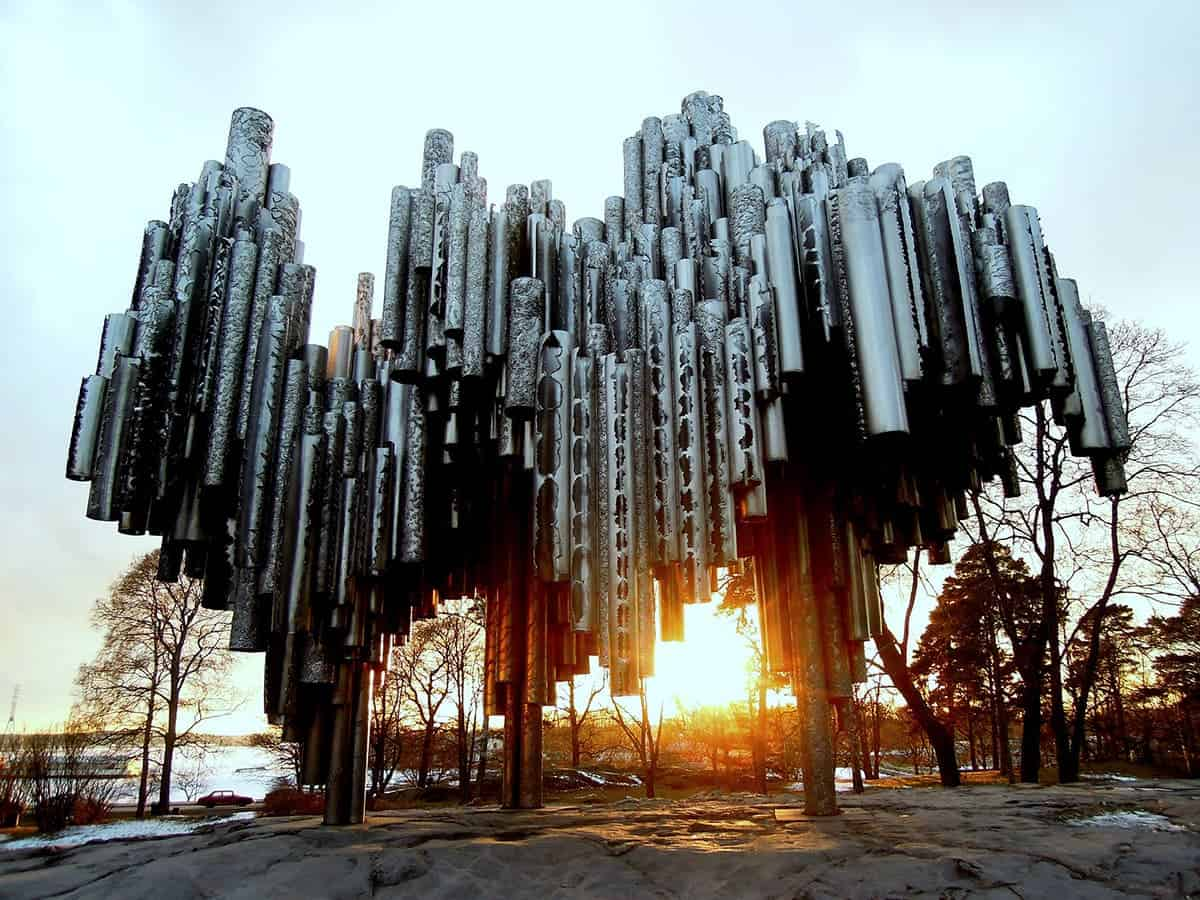 Helsinki Points of Interests and Top Attractions to Visit sibelius monument