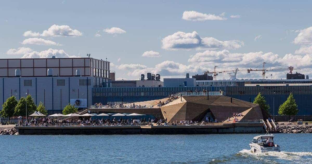 Löyly Helsinki – The Trendiest Eco-Friendly Sauna in Helsinki (Finland)