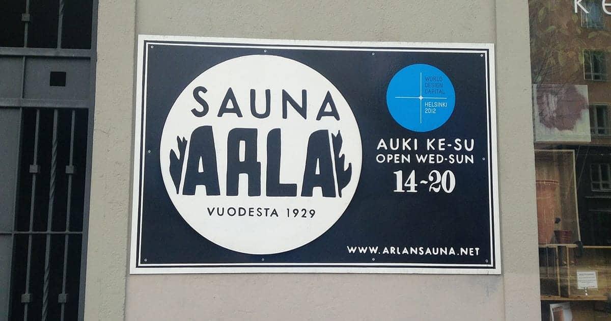 Sauna Arla – A Public Sauna in Helsinki (Finland)
