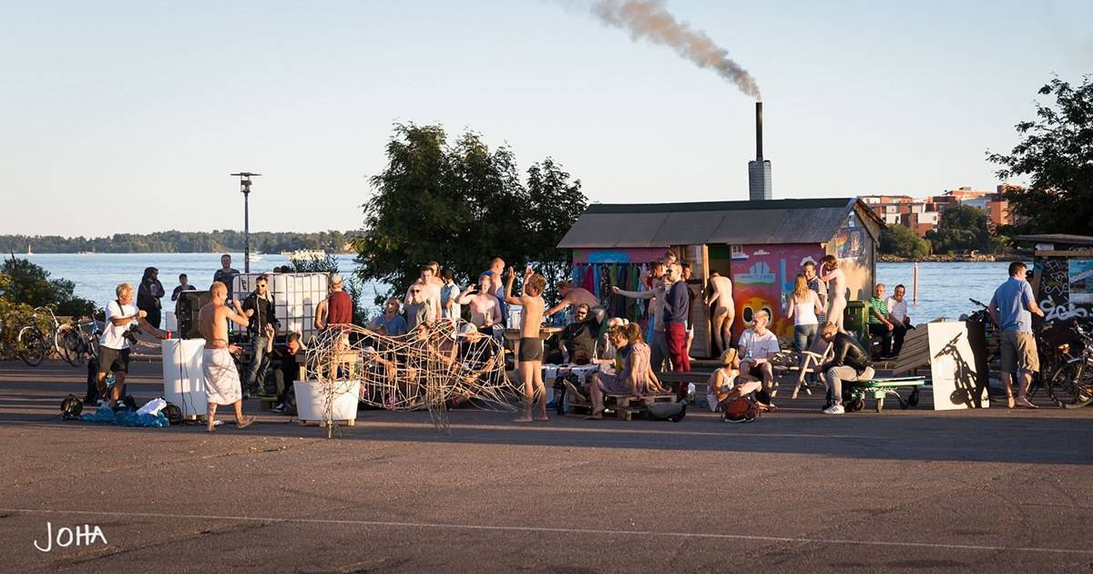 Sompasauna – The Most Public Sauna in Helsinki (Finland)
