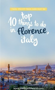 Things to do in Florence, Italy | Places to visit in Florence | Florence sightseeing | Trip to Florence | Visit Florence | Visit Italy | What to see in Italy | Romantic places in Europe | Where to go in Europe | Florence Italy Travel | Italy Tavel