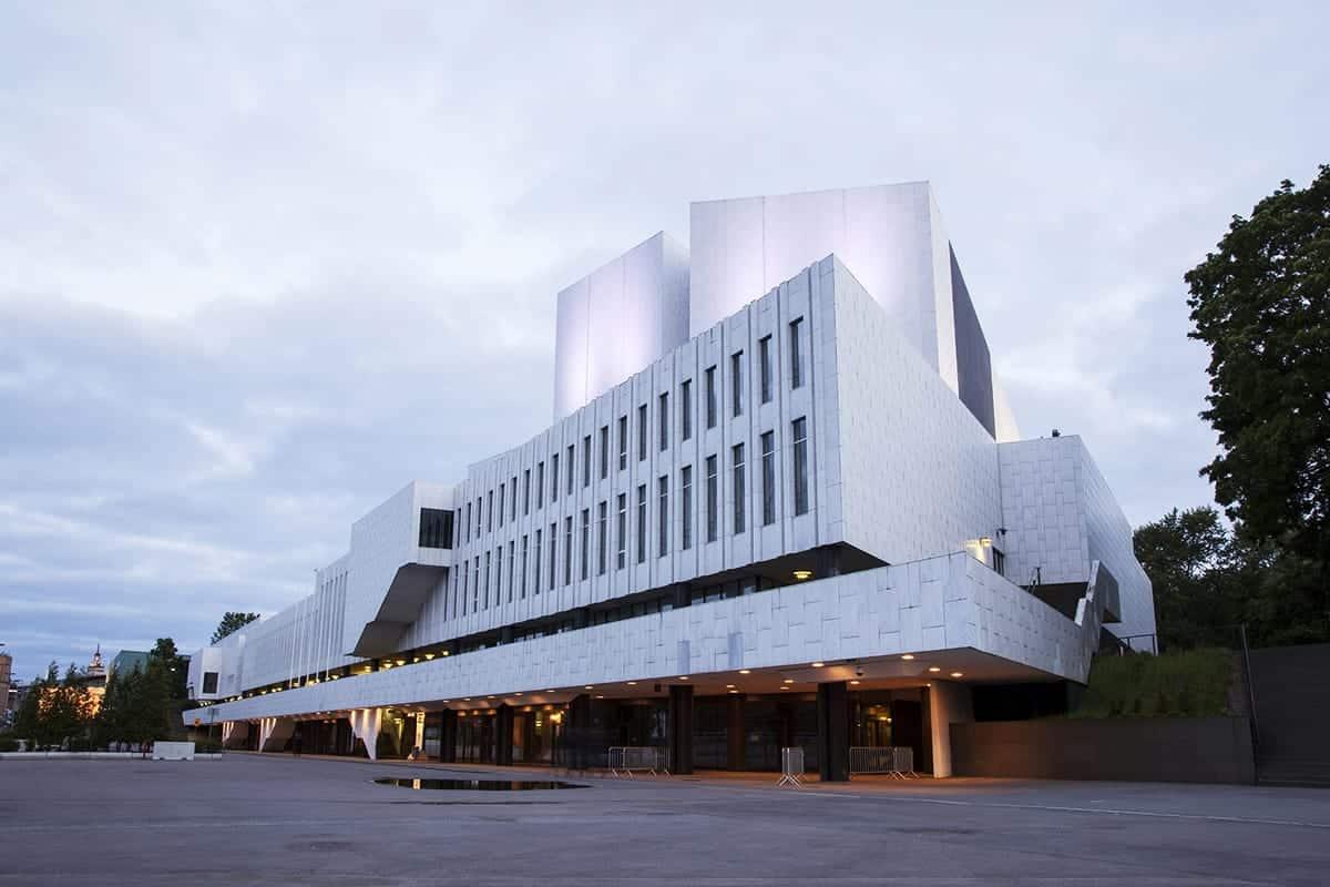 Finlandia Hall in Helsinki