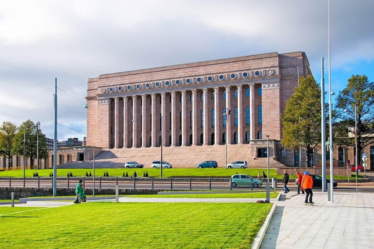 Parliament House of Finland, Helsinki