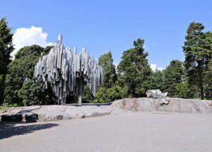 HELSINKI LANDMARKS SIBELIUS MONUMENT