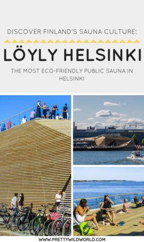 #LOYLYHELSINKI #SAUNA #HELSINKI #FINLAND #TRAVEL #LOCALGUIDE | Things to do in Helsinki | Public Sauna in Helsinki | Places to visit in Finland | Helsinki points of interest | Visit Helsinki | Travel to Helsinki | Trip to Helsinki