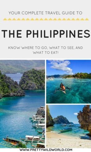 #PHILIPPINES #ASIA #TRAVEL | The Philippines Travel Guide | Things to do in the Philippines | The Philippines points of interest | What to do in the Philippines | Things to see in the Philippines | Places to visit in the Philippines