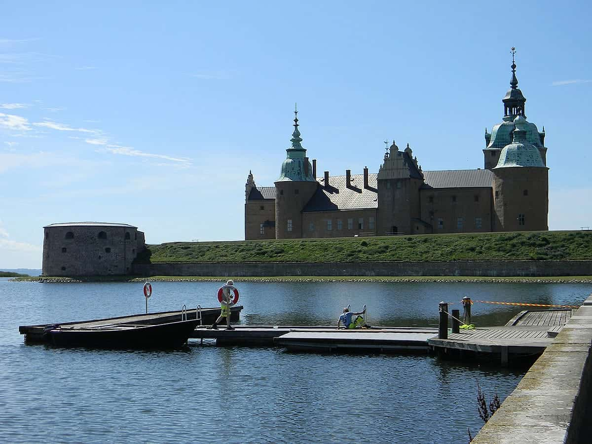 Kalmar Cathedral in Kalmar – one of the places to visit in Sweden