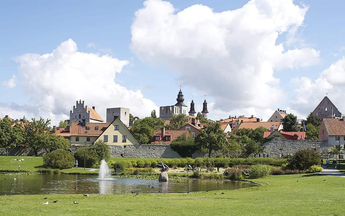 PLACES TO VISIT IN SWEDEN VISBY SWEDEN