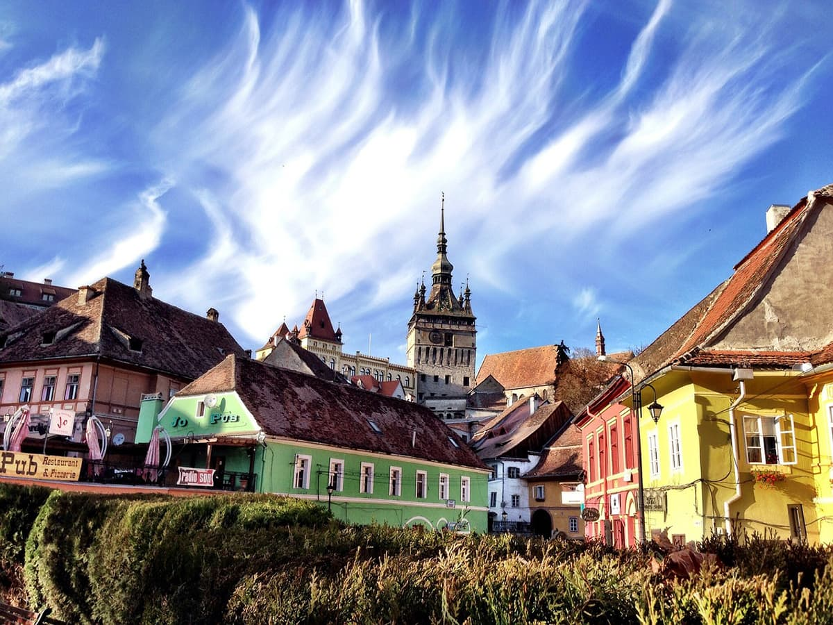 Most Colorful аnd Vibrant Trаvеl Destinations іn Europe Sighisoara romania