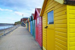 Most Colorful аnd Vibrant Trаvеl Destinations іn Europe Whitby Beach Huts England