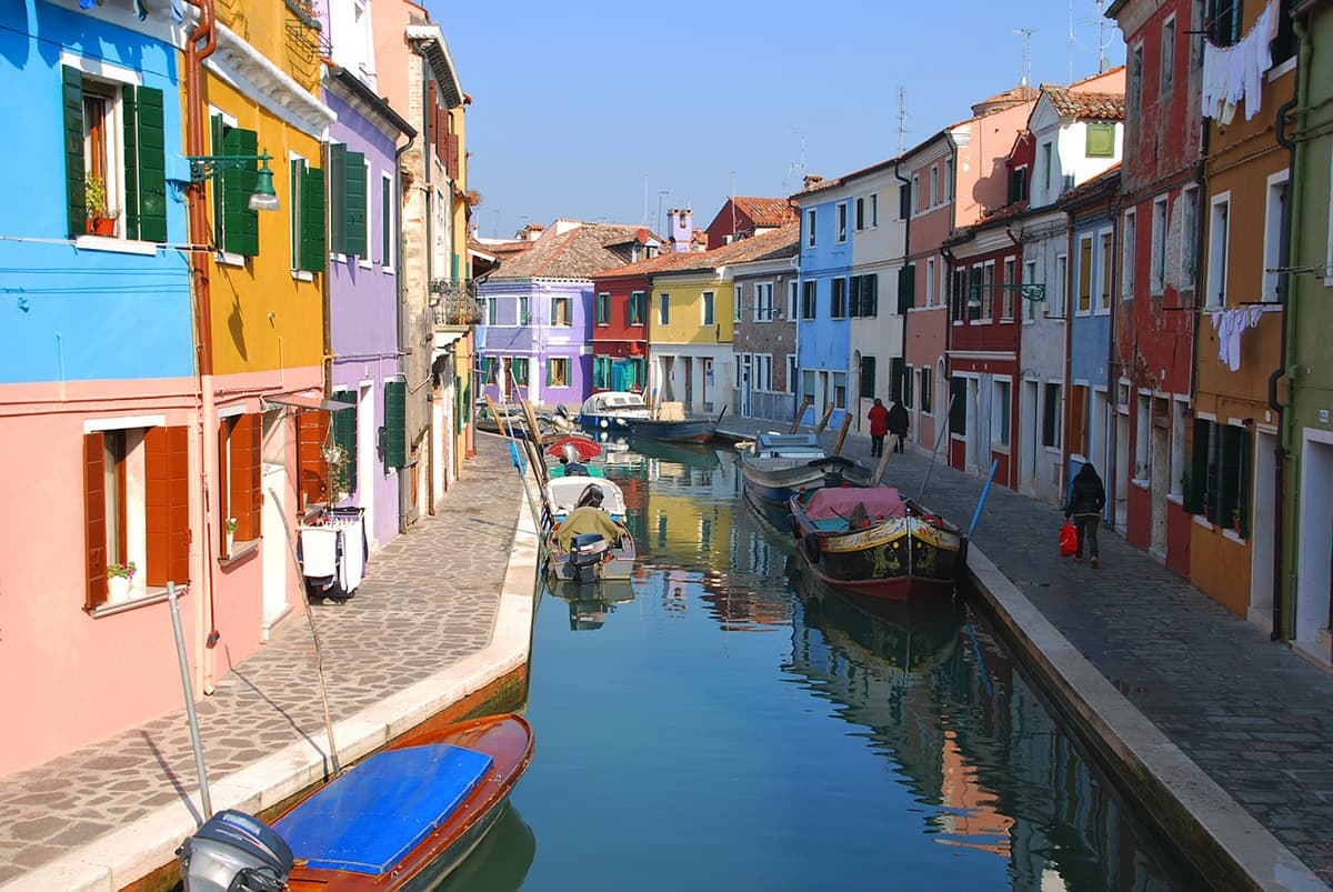 Most Colorful аnd Vibrant Trаvеl Destinations іn Europe burano island italy