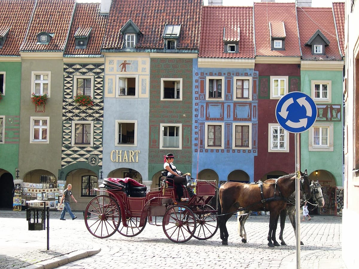 Most Colorful аnd Vibrant Trаvеl Destinations іn Europe poznan poland