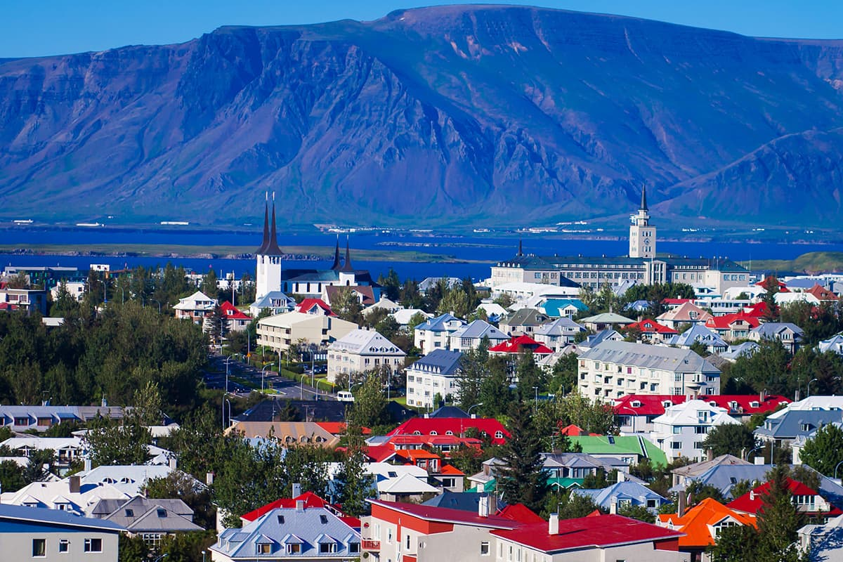 Most Colorful аnd Vibrant Trаvеl Destinations іn Europe reykjavik iceland
