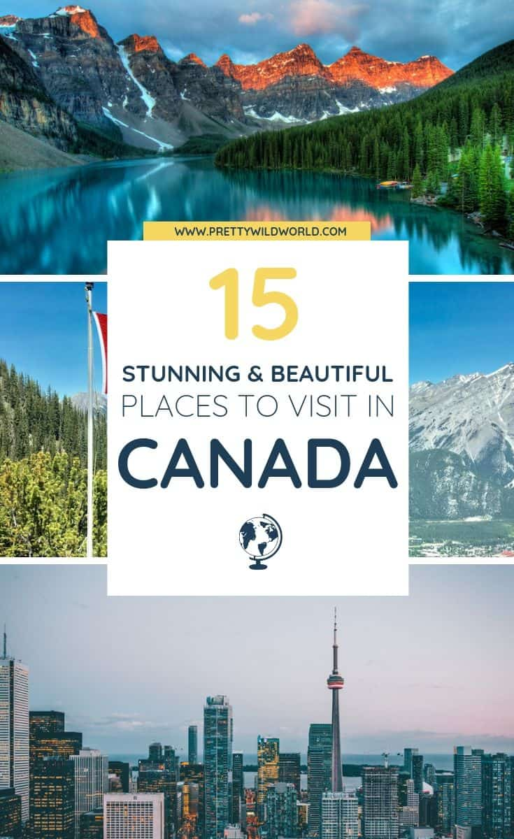 Planning a trip to Canada soon? Check out this awesome guide on the best places to visit in Canada including the when is the best time to visit Canada, how to travel to Canada, where to stay in Canada, how to get around Canada, where to stay in Canada, things to do in Canada, what to do in Canada, best attractions in Canada, and the best Canada points of interests. Save this Canada travel guide to your travel board so you can find it later! #canada #canadaTravel #Travel