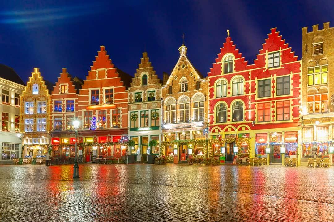 Christmas in Europe, Bruges, Belgium