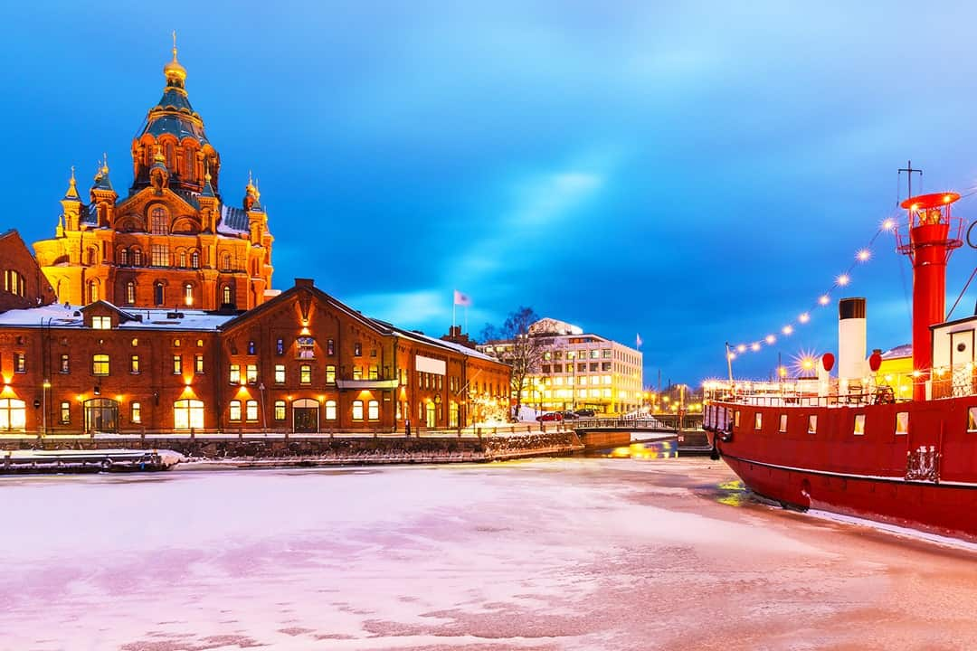 SPEND A MAGICAL CHRISTMAS IN EUROPE HELSINKI FINLAND