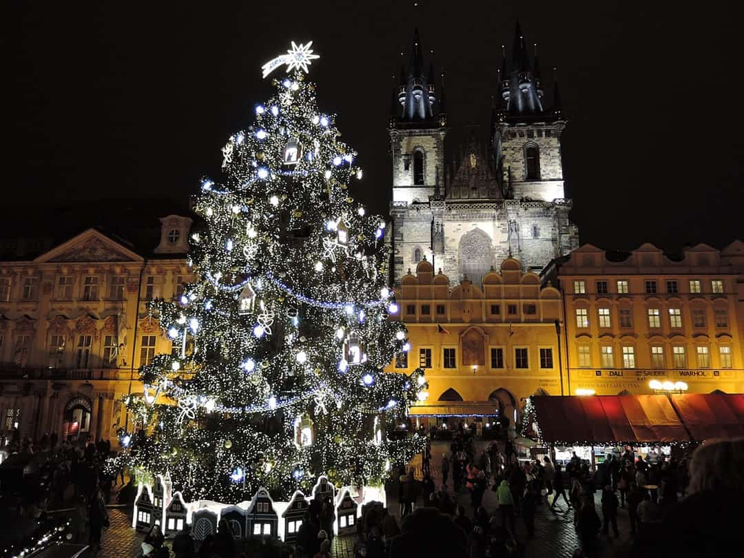 SPEND A MAGICAL CHRISTMAS IN EUROPE PRAGUE CZECH REPUBLIC