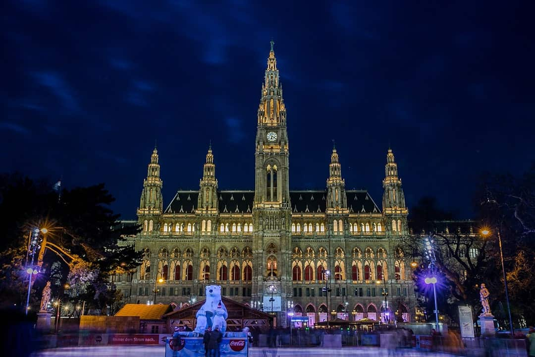 SPEND A MAGICAL CHRISTMAS IN EUROPE VIENNA AUSTRIA