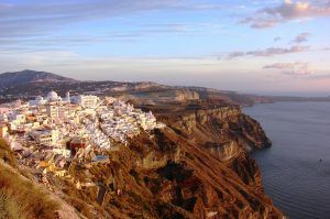 Things to do in Santorini visit Greece tourism Hike from Fira to Oia