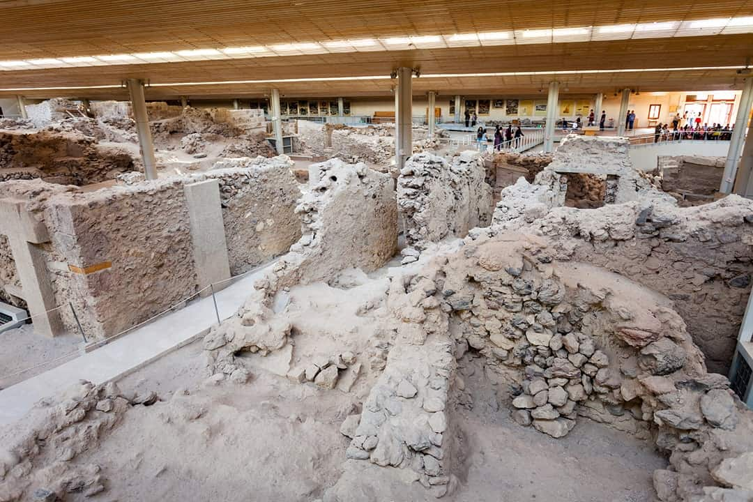 Visit the Akrotiri Archaeological Site