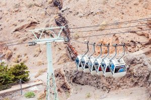 Things to do in Santorini visit Greece tourism cable car ATV