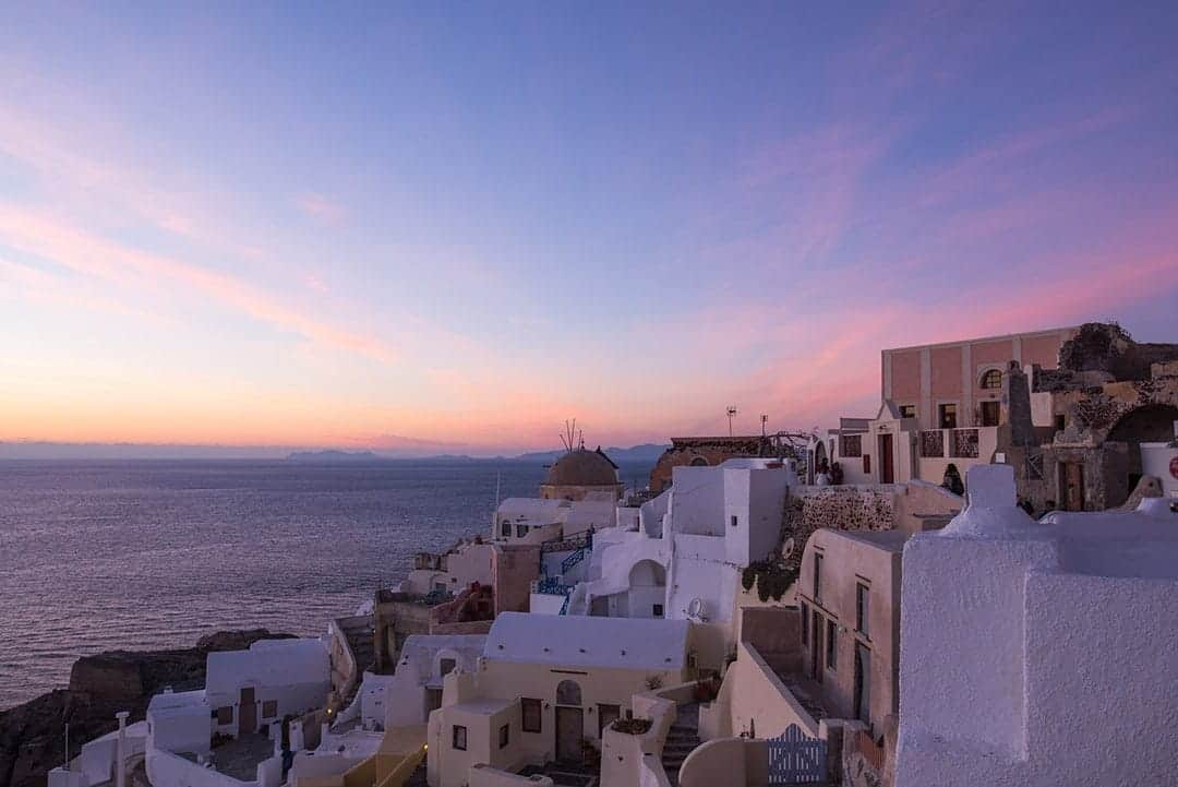 Things to do in Santorini visit Greece tourism enjoy the sunset in oia