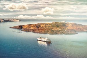Things to do in Santorini visit Greece tourism nea kameni santorini sleeping volcano