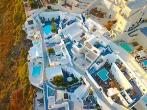 Things to do in Santorini visit Greece tourism traditional whitewashed homes in Santorini