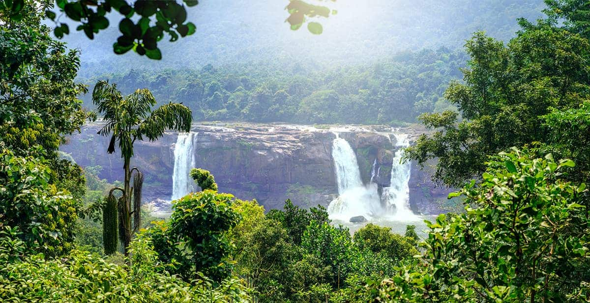 Athirappally and Vazhachal Waterfalls