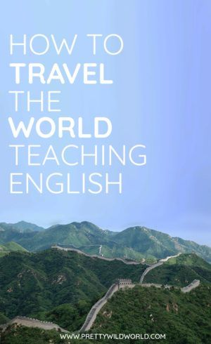 #TEACHENGLISH #TRAVEL #TRAVELTHEWORLD | Do you want to travel the world and earn at the same time? Teaching English has been a traveler's trade for a long time and it has enabled many to afford their life on the road. Read more for more info!