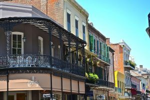 TOP TOURIST ATTRACTIONS IN THE USA FRENCH QUARTER IN NEW ORLEANS LOUISIANA