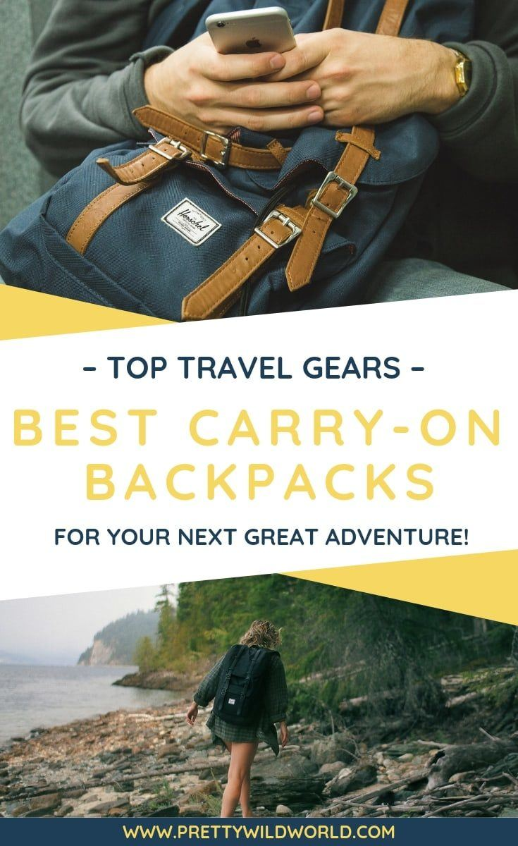 Looking for the best carry on backpack on the market? Check out this travel gear guide that will tell you how to find and choose the best carry on luggage, backpack travel, weekend getaway backpack, rucksack, and weekender backpack! #tcarryonbackpack #travelgear #travel #travelpacking #backpacking