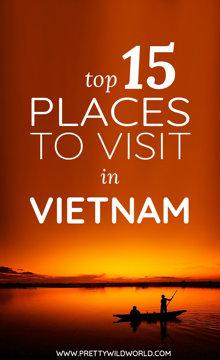 Do you want to know the best places to visit in Vietnam? We got you covered! Located in south east asia bordering with China, Laos, and Cambodia – there's certainly tons of things to do in Vietnam from all destinations it offers! Check this post out and learn more about Vietnam tourism and all the best places to go. #Vietnam #Asia #SouthEastAsia