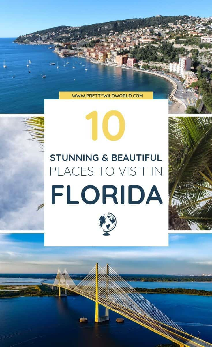 Planning to visit Florida, the Sunshine State in U.S? Here's an amazing list of the places to visit in Florida you must not miss! #Florida #FloridaTravel #VisitFlorida #PlacesToVisitInFlorida