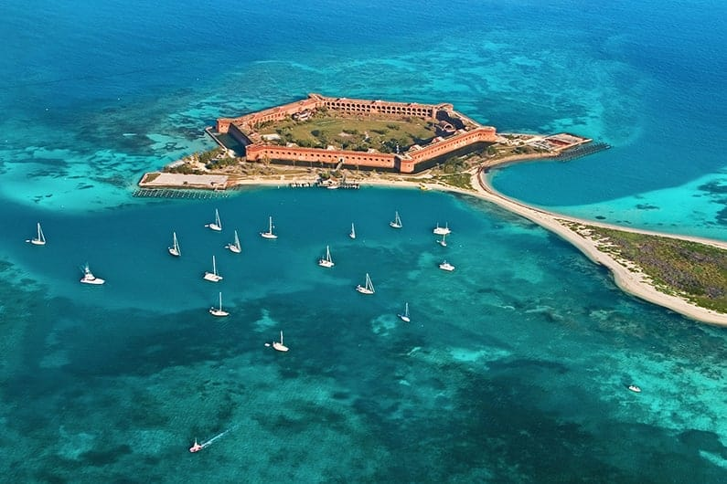 Top Places to Visit in Florida Dry Tortugas National Park