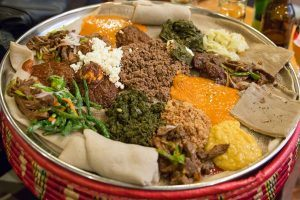 adventure and exotic food Mahberawi in Ethiopia