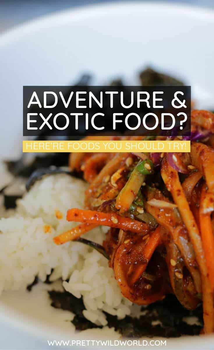 #ADVENTURE #TRAVEL #EXOTIC FOOD Everyone loves to travel and to try out new and exciting foods. Sometimes people purposely take a trip to awaken their taste buds; here are some great choices to review.