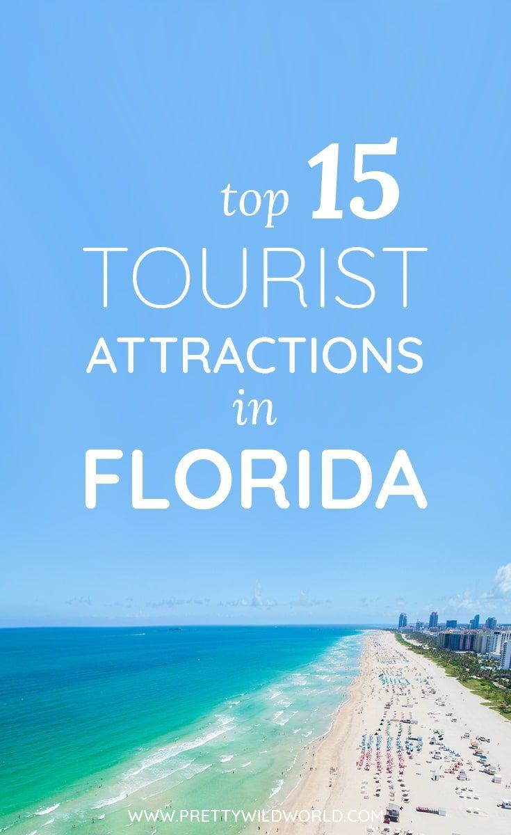 Florida points of interest consist of many interesting and fun packed activities. In this post you'll learn some of the top attractions in Florida you must not miss! So, if ever you're still wondering what to see in Florida, read this post or pin it for later read! #visitflorida #traveltoflorida #floridatraveldestinations