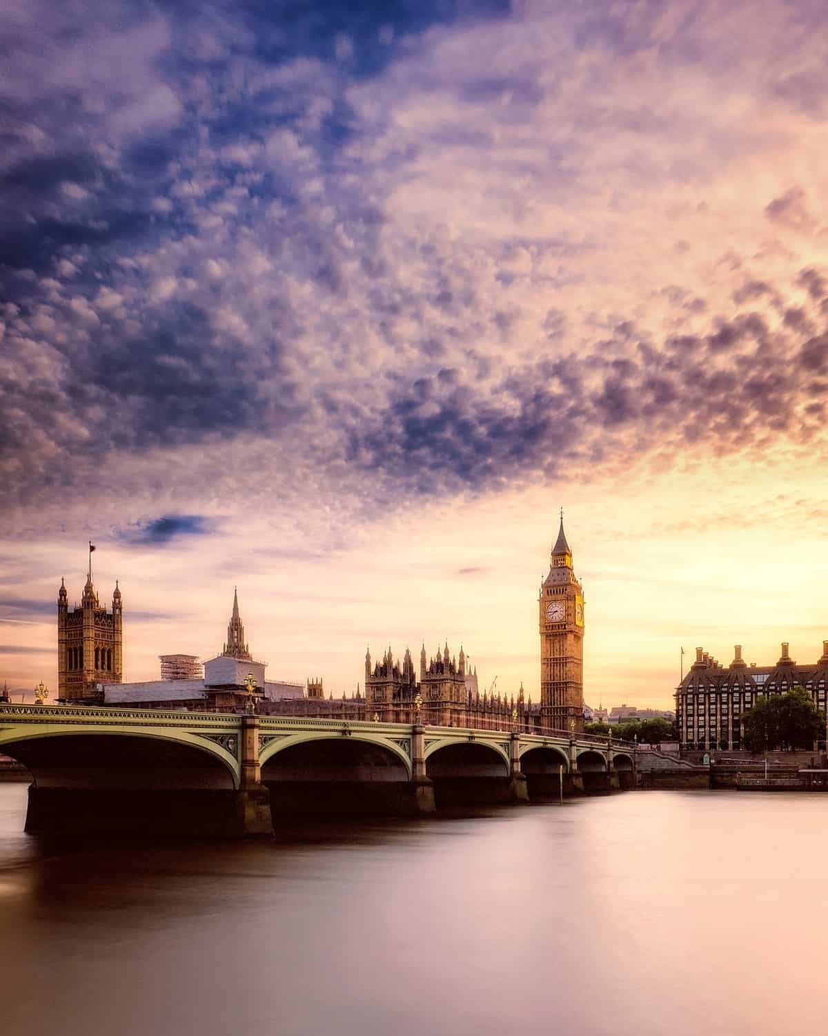 Top attractions in London – Big Ben and The Parliament