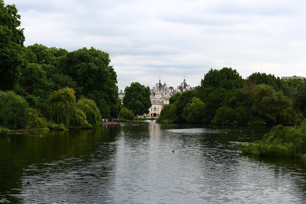 London sightseeing spot, Hyde Park