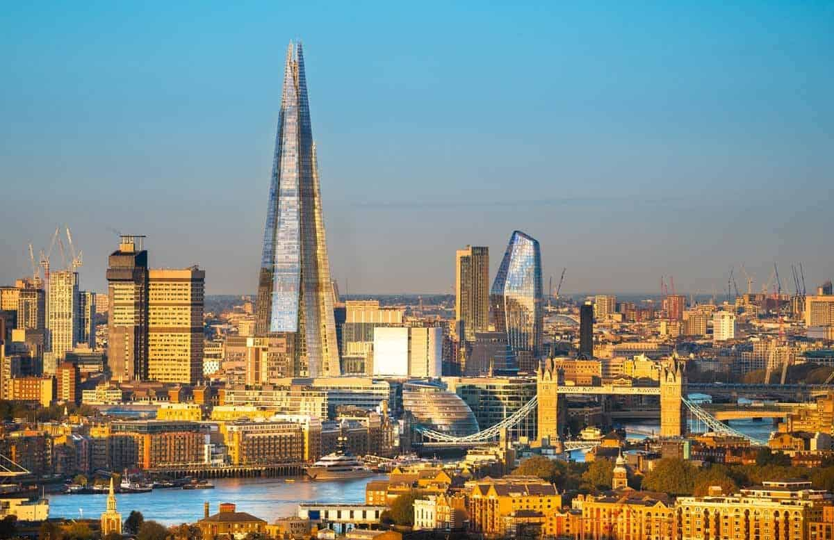 top tourist attractions in london Uk city center