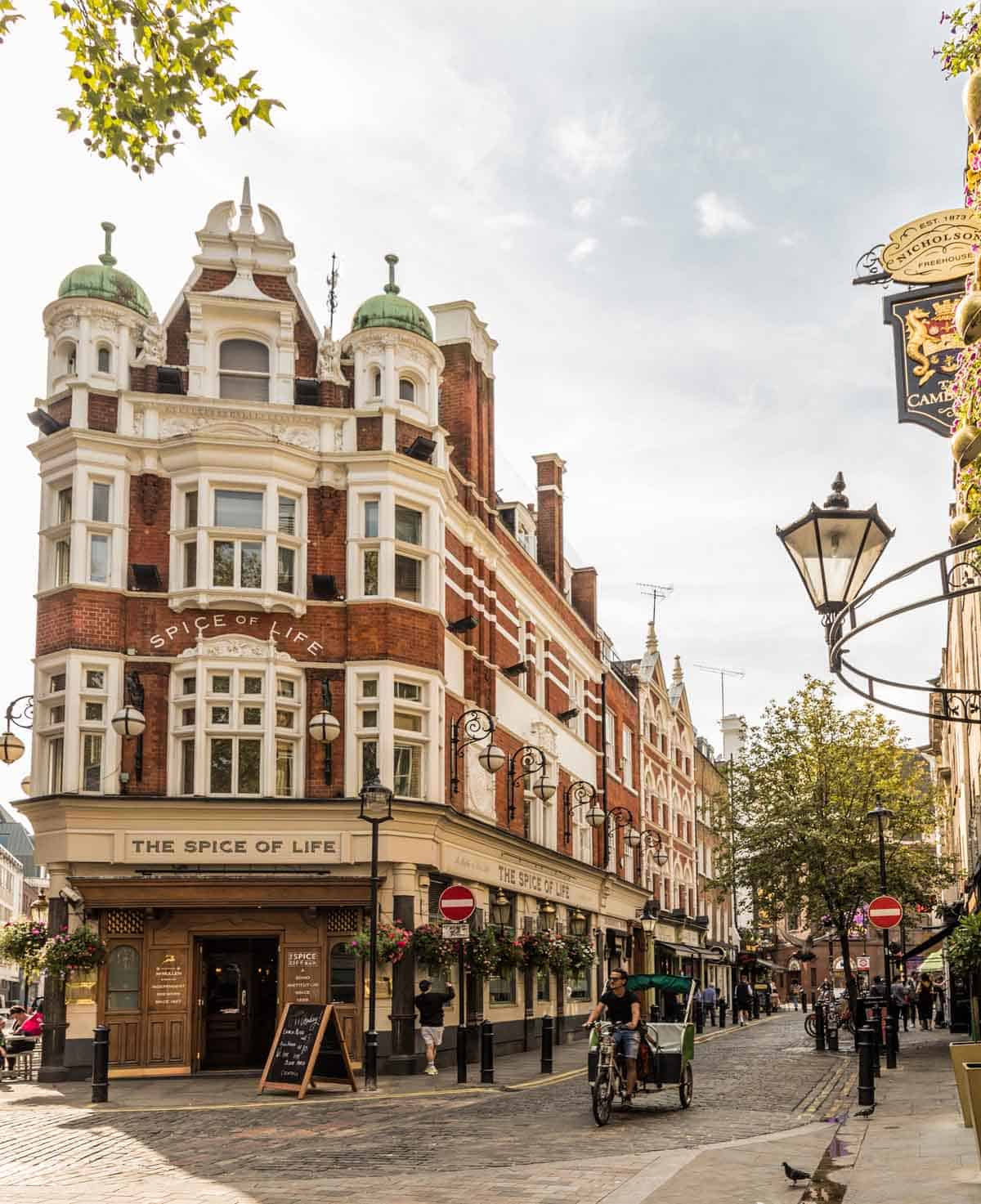 top tourist attractions in london uk soho