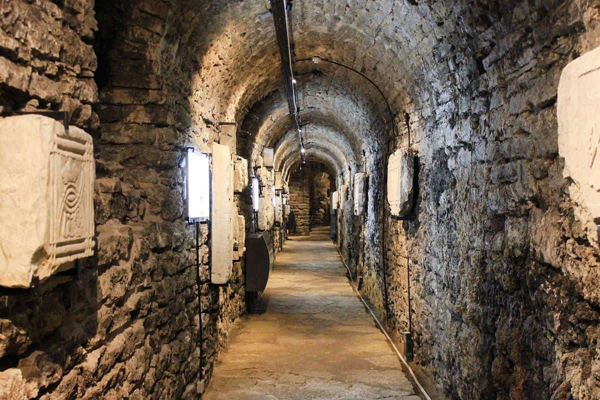 Bastion passages in the Old Town of Tallinn