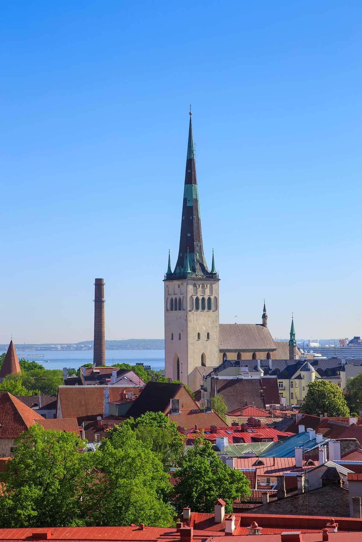 St. Olaf's Church in Tallinn