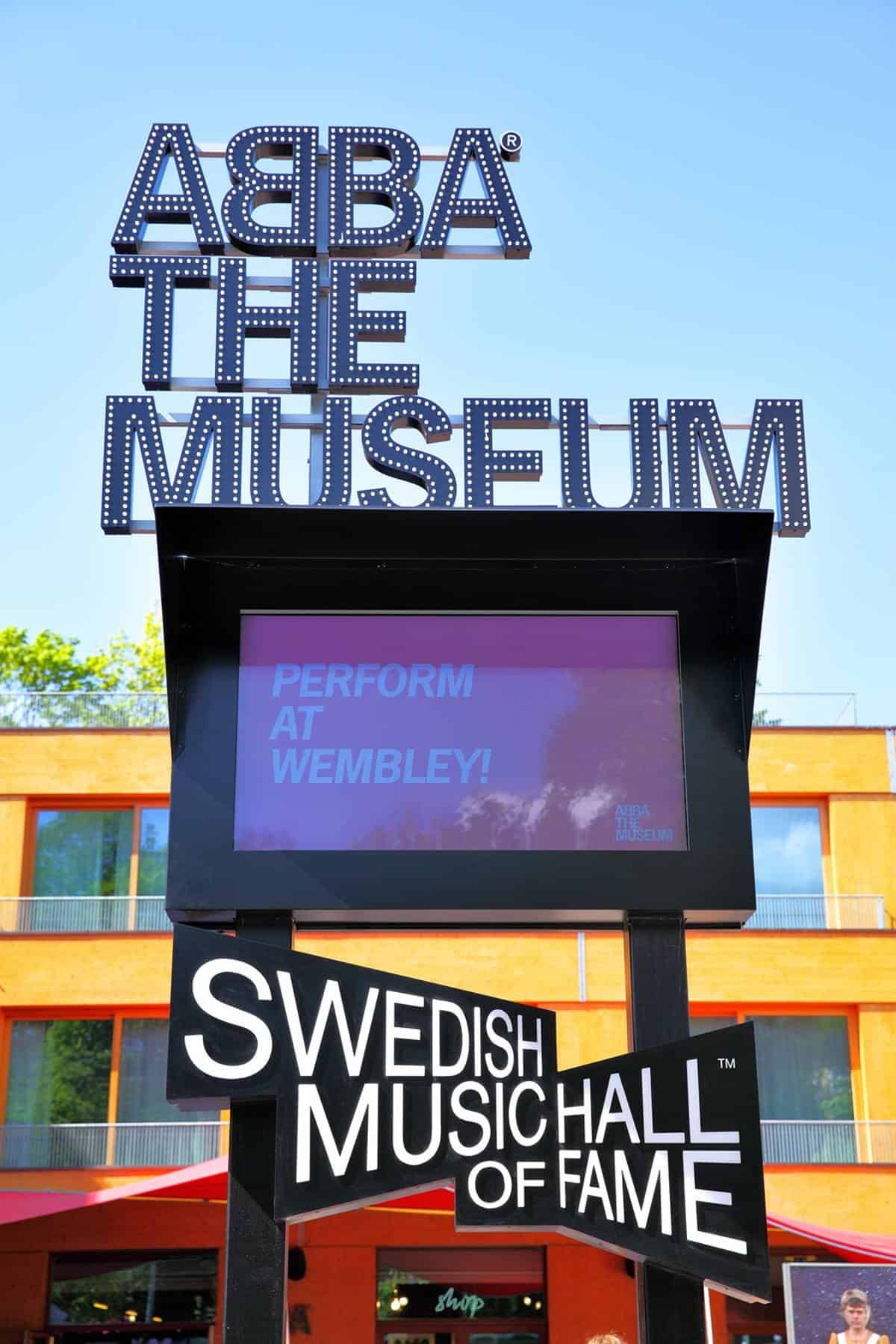 ABBA: The Museum is one of the top things to do in Stockholm.