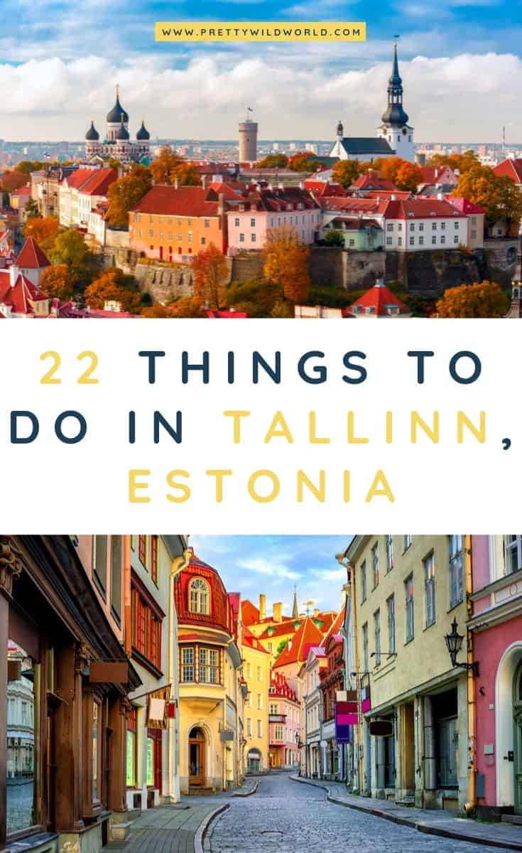 Things to do in Tallinn | Planning to visit Estonia's capital for winter, its old town, food, christmas, shopping, and for summer? Read this post now and learn more about it or pin it for later read. #tallinn #estonia #estoniatravel #travel #traveldestinations #traveltips #bucketlisttravel #travelideas #travelguide #amazingdestinations #traveltheworld