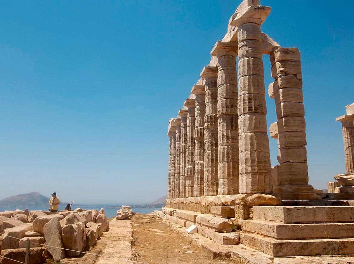 Cape Sounion is Greece tourist place