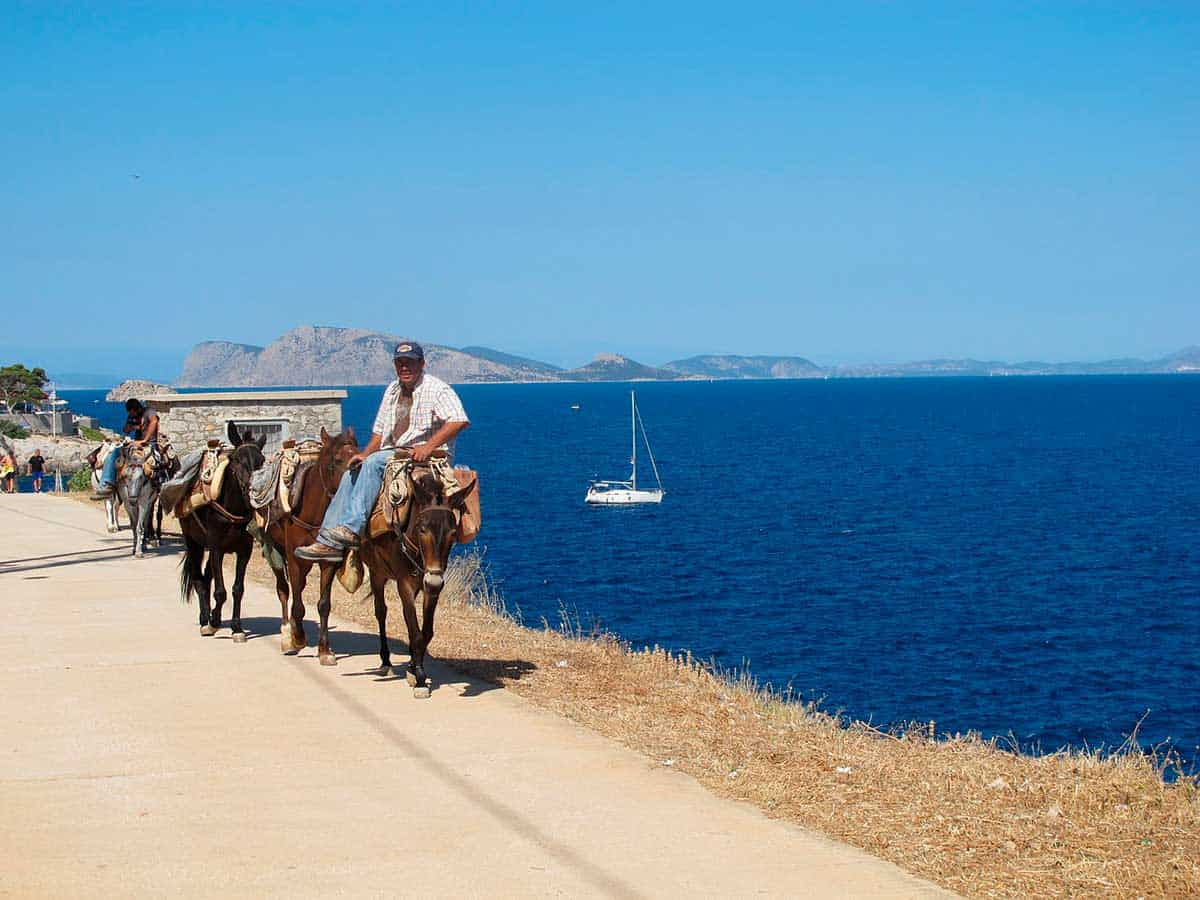 Hydra is one of the places to go in Greece