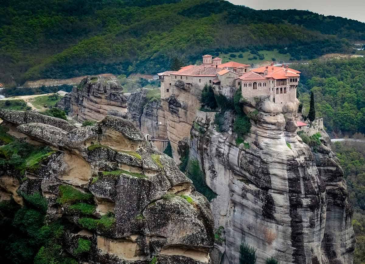 Meteora is one of the best Greece destinations