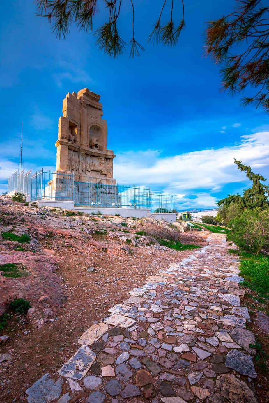 Philopappos Monument is located in one of the best cities in Greece
